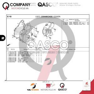 E10 | Bưởng máy trái | CB300R