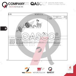 E10 | Bộ đề A.C.G | SH 125 - SH 150