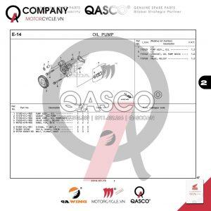 E14 | Bơm dầu | CB300R