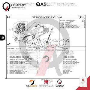 E4 | Xích cam - Căng xích cam | MSX 125