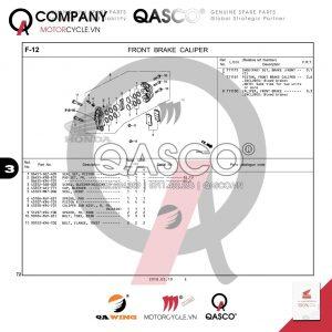 F12 | Hệ thống phanh trước | CB300R