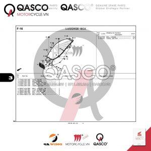 F16 | LUGGAGE BOX | PCX