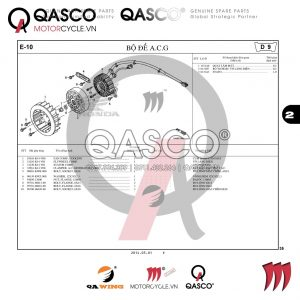 E10 | Bộ đề A.C.G | VISION 110