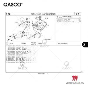 F13 | FUEL TANK (ANF125ST/MST) | Future NEO