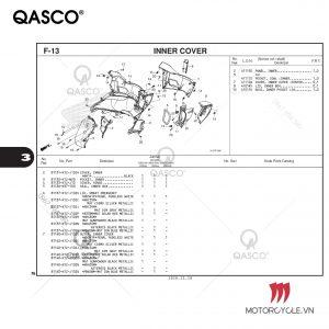 F13 - INNER COVER - PCX 160 K1Z (2021)