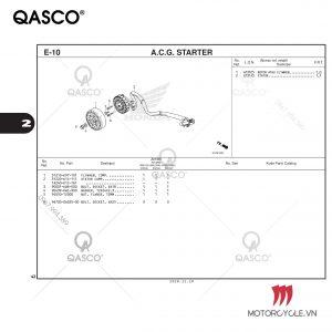 E10-A.C.G. STARTER-PCX 160 K1Z (2021)
