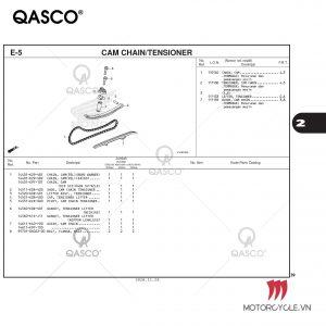 E5-CAM CHAIN/TENSIONER-PCX 160 K1Z (2021)