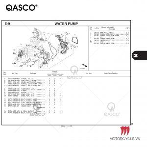 E9-WATER PUMP-PCX 160 K1Z (2021)