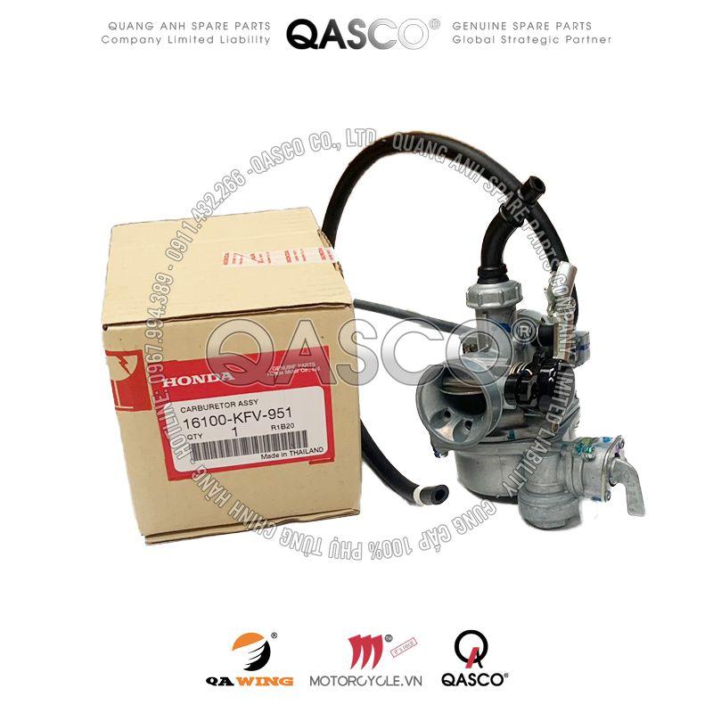 16100-KFV-951   Bộ chế hòa khí DREAM 100   CARBURATOR ASSY