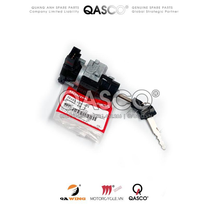 35101-K35-V01   Bộ khóa,công tắc máy   SWITCH COMP,COMB&LOCK